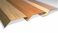 Perfiles de imitación madera distinto nivel